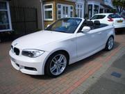 Bmw 118d 2012 BMW 118D M SPORT WHITE CONVERTIBLE